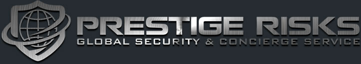 Prestige Risks, Global Security, Concierge Service, Executive Protection, Secure Transport Logo